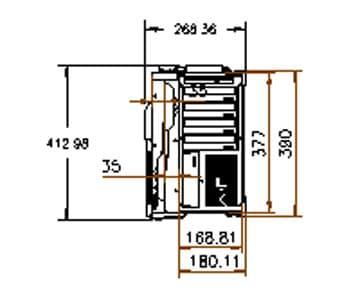 MegaPAC-L2 Dimension drawing
