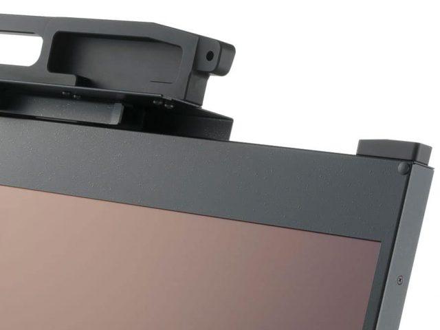 robust rack display handle detail