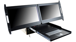 biggest 2U monitor rackmount