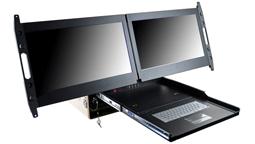 biggest 2U monitor rackmount