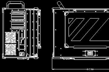 Portable workstation dimensions