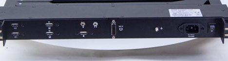 "1U-Rack-Mount-23"" rear panel"