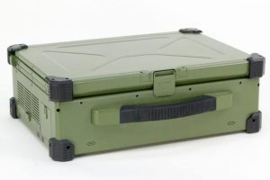 Compact portable server with Mil Specs. Single and three screen versions available.