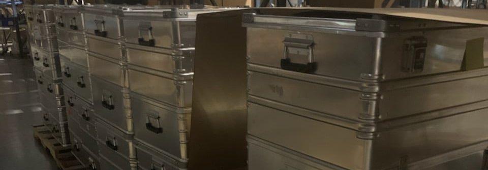 MegaPAC Aluminum cases